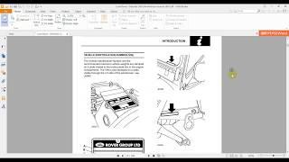 Land Rover Defender 300 Tdi workshop maunual 1997