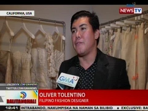 BT: Pinoy fashion designer Oliver Tolentino, may bagong boutique sa Beverly Hills