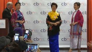 Пожилые модели продемонстрировали наряды в Нью-Йорке (новости)