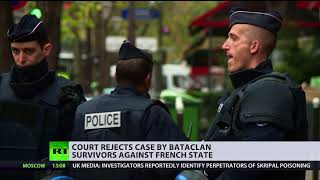 'State bears no responsibility': French court rejects Bataclan case