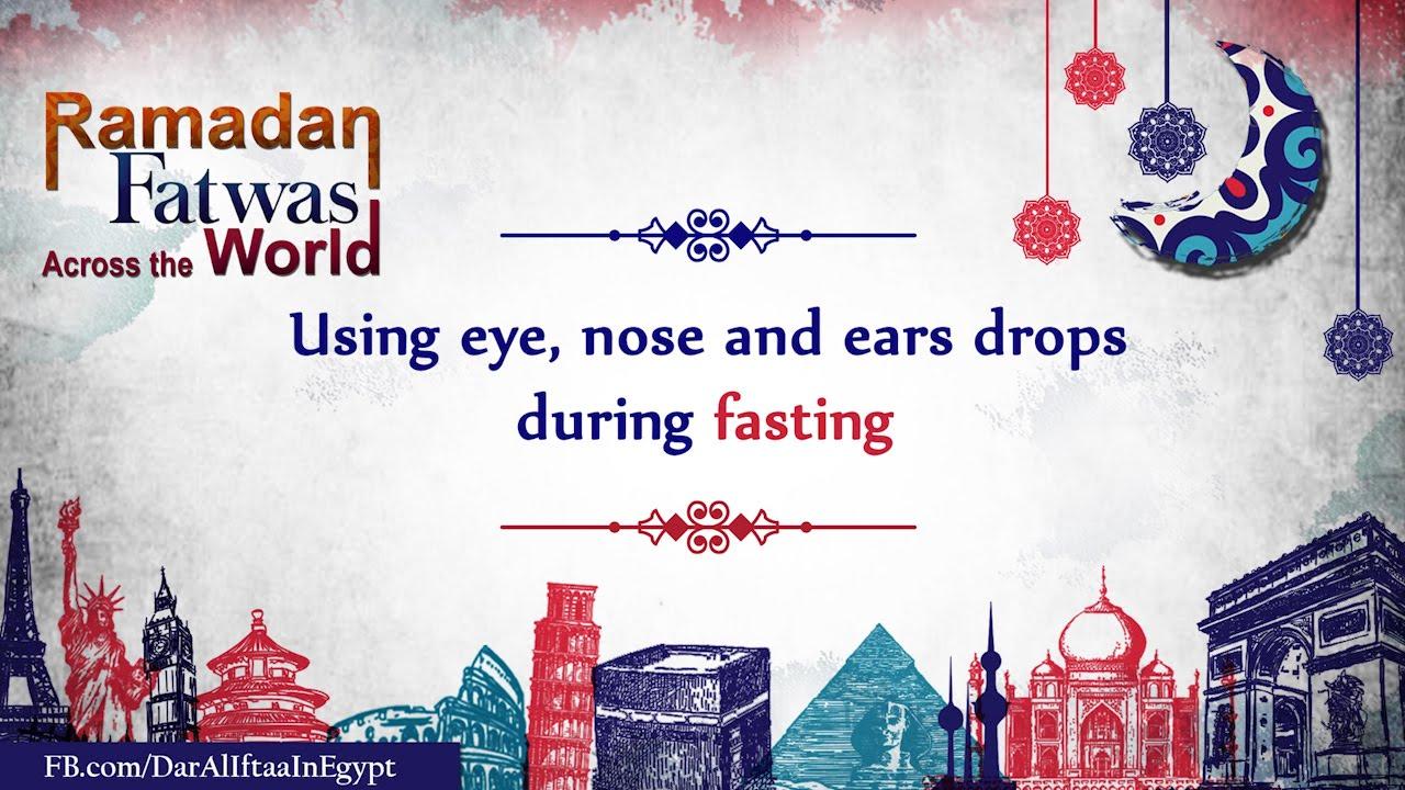 eye drop when fasting