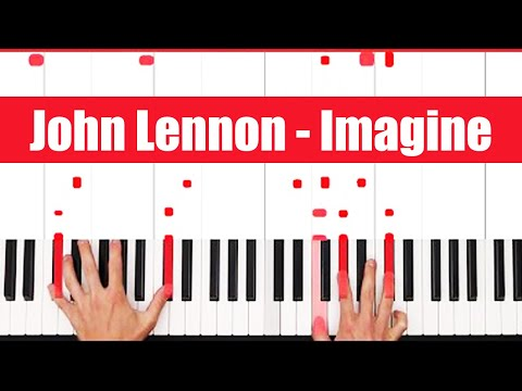 Imagine John Lennon Piano Tutorial - ORIGINAL