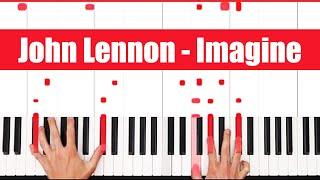 Imagine John Lennon Piano Tutorial - ORIGINAL