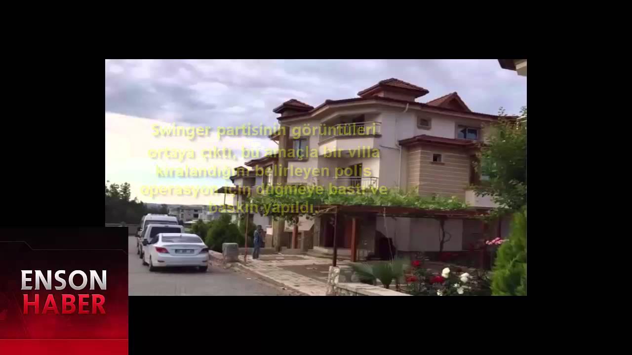 Adana'da Eş Değiştirme Swinger Operasyonundan Çarpıcı Kareler