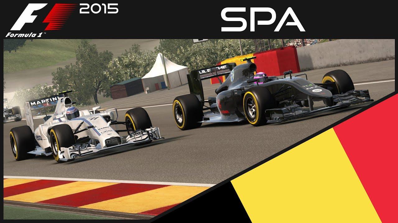 Formel 1 2015 Mod Karriere Rennen Spa Qhddeutschf1 2015 Mod