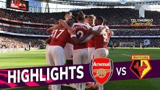 Arsenal vs. Watford: 2-0 Goals & Highlights   Premier League   Telemundo Deportes