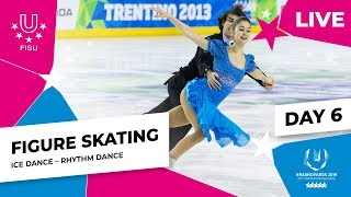 Figure Skating | Ice Dance Rhythm Dance | Winter Universiade 2019