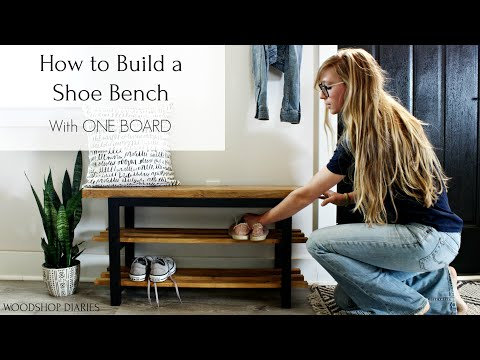 how-to-build-a-modern-shoe-bench-{with-one-2x10-board!}