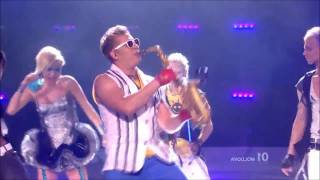 Epic Sax Guy [Original] [HD](Please like and subscribe! The Song: SunStroke Project & Olia Tira - Run Away http://www.youtube.com/user/eurovision http://www.facebook.com/pages/Olia-Ti., 2012-01-20T18:53:08.000Z)