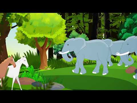 CREATION OF UNIVERSE | BIBLE STORIES FOR KIDS | ANIMATED BIBLE STORIES FULL HD