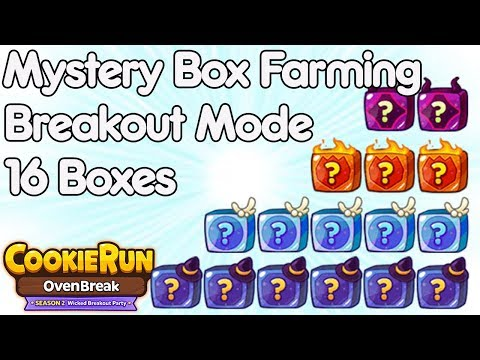 Cookie Run Ovenbreak MY WAY Mystery Box Farming