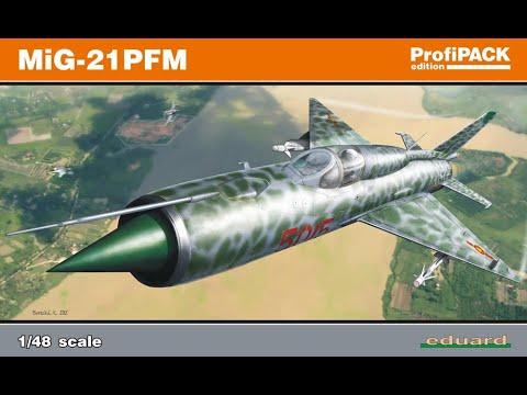 Eduard : Mig-21 PFM ProfiPACK Edition :...