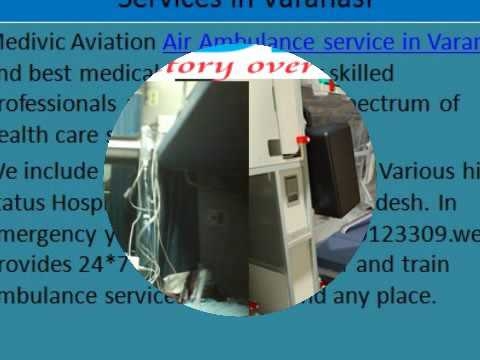 Emergency Air &Train Ambulance Services in Allahabad &Varanasi