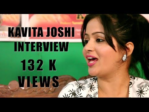 Haryanvi superstar Kavita Joshi interview |Uttar Kumar