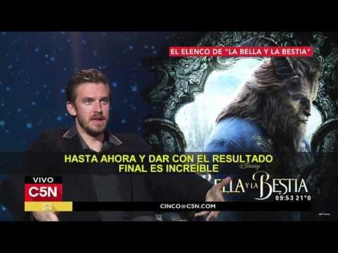 """C5N - Cine: el elenco de la remake de """"La Bella y la Bestia"""""""