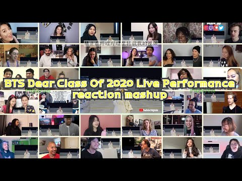 [BTS] Dear Class Of 2020 Live Performance|reaction mashup