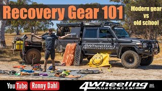 4x4 recovery gear 101, modern gear vs old gear