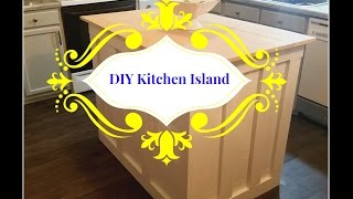 DIY Kitchen Island.....$75.00