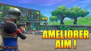 NOUVELLE METHODE AMELIORER SON AIM sur FORTNITE BATTLE ROYALE !