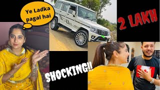|| Car Di modification Da Kharch?? || Bolero 🚗B6 Review || Kimmipawan ||❤️