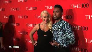Christina Aguilera Time 100 Gala- Red Carpet
