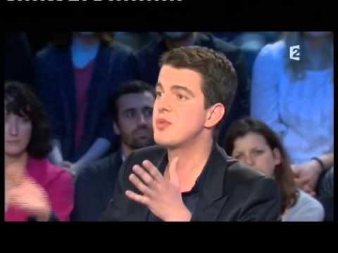 Philippe Jaroussky - On n'est pas couché 8 janvier 2011 #ONPC