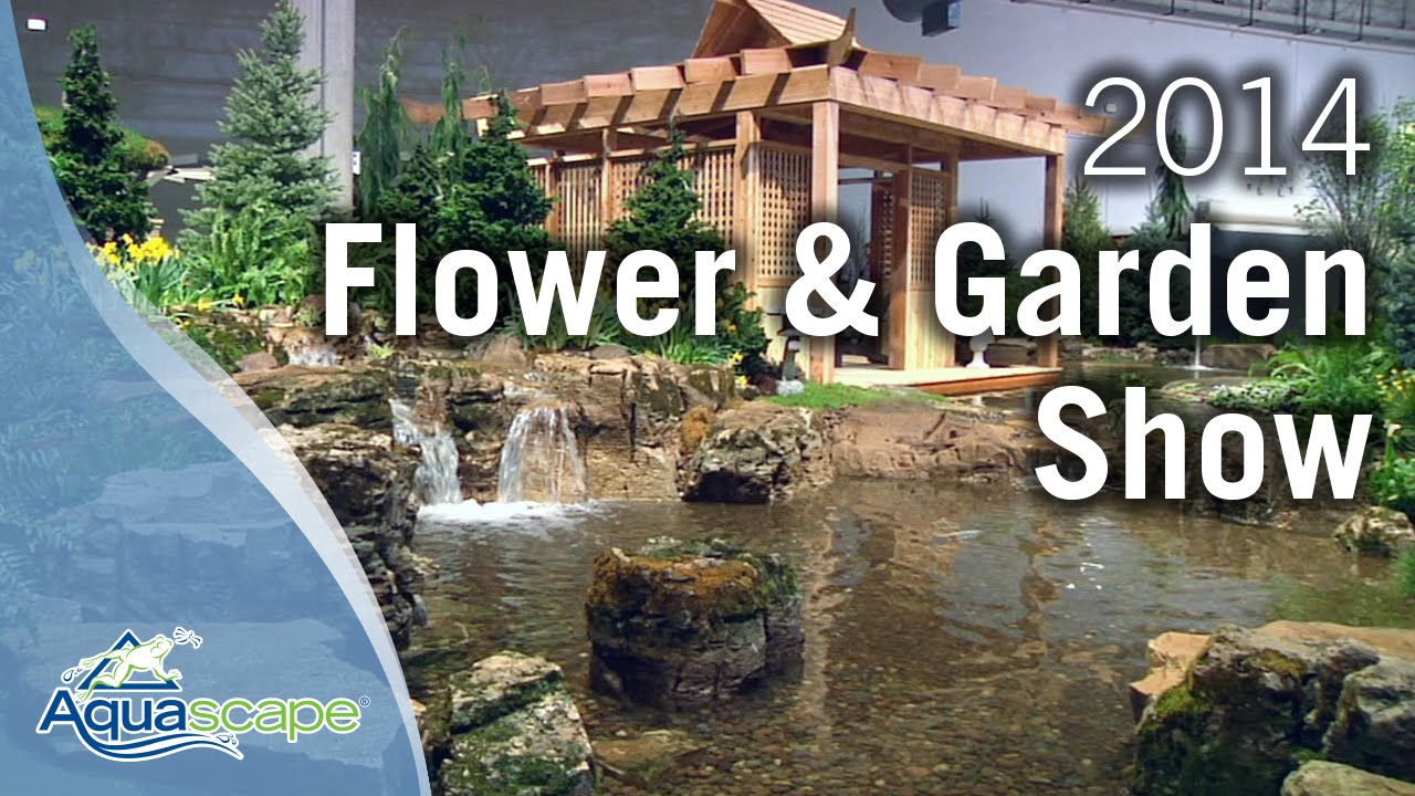 Chicago flower garden show 2014 aquascape designs Fall home and garden show