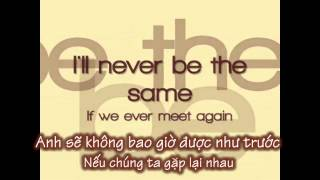 [ Lyric & Vietsub ] If we ever meet again - Katy Perry ft Timbaland