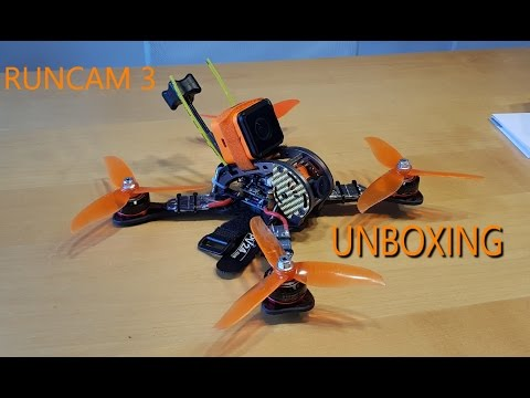 Runcam 3 Unboxing | Does It Fit On The Copter?