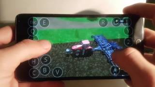 Farming simulator 2017 on Android(samsung galaxy note4) ep5.sosnovka map