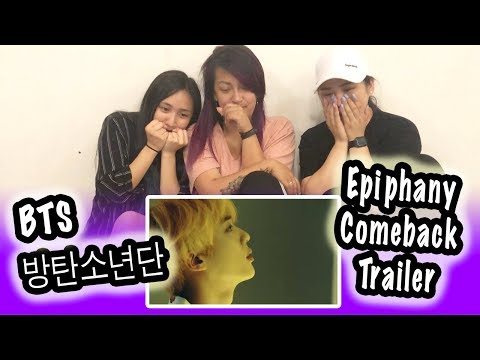 [KPOP REACTION] BTS 방탄소년단 --  LOVE YOURSELF 結 ANSWER EPIPHANY COMEBACK TRAILER
