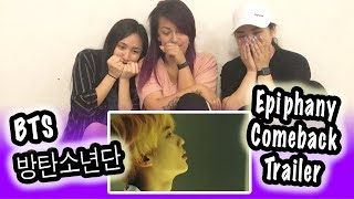 [KPOP REACTION] BTS 방탄소년단 --  LOVE YOURSELF 結 ANSWER 'EPIPHANY' COMEBACK TRAILER