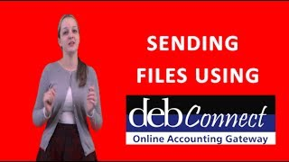 Sending a file using DEB Connect