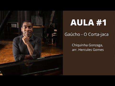 """<span class=""""title"""">AULA #1 - GAÚCHO (Chiquinha Gonzaga, arr. Hercules Gomes)</span>"""