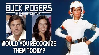 Buck Rogers cast: Then and Now. Can you still recognize them?