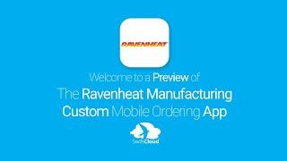 Ravenheat Manufacturing - Mobile App Preview - RAV988W