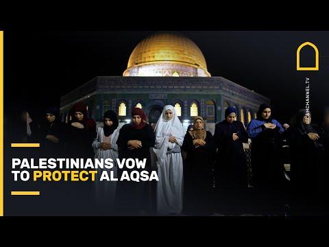 Palestinians vow to protect Al Aqsa