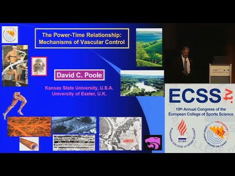 The Power-Duration Relationship: Mechanisms of Vascular Control Prof. Poole