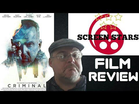 Criminal (2016) Action Film Review (Kevin Costner, Gary Oldman)