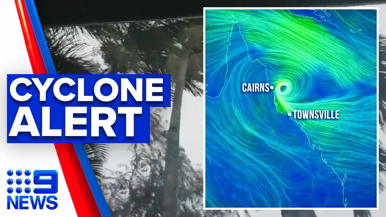 Queensland put on cyclone watch | 9 News Australia