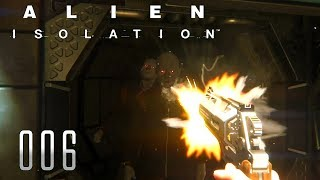 👽 ALIEN ISOLATION [006] [Eine freundschaftliche Lösung] Let's Play Gameplay Deutsch German thumbnail