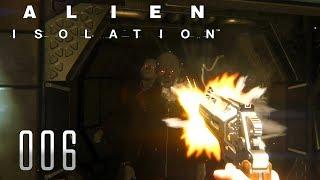 👽 ALIEN ISOLATION [006] [Eine freundschaftliche Lösung] Let's Play Gameplay Deutsch German thumbnail