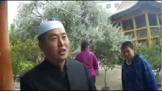 西宁东关清真大寺的回族解说员,口才瞬间秒杀导游