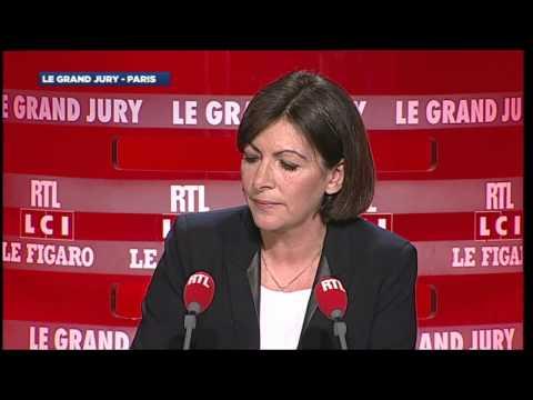 Le Grand Jury Spécial Paris - Anne Hidalgo - RTL - RTL