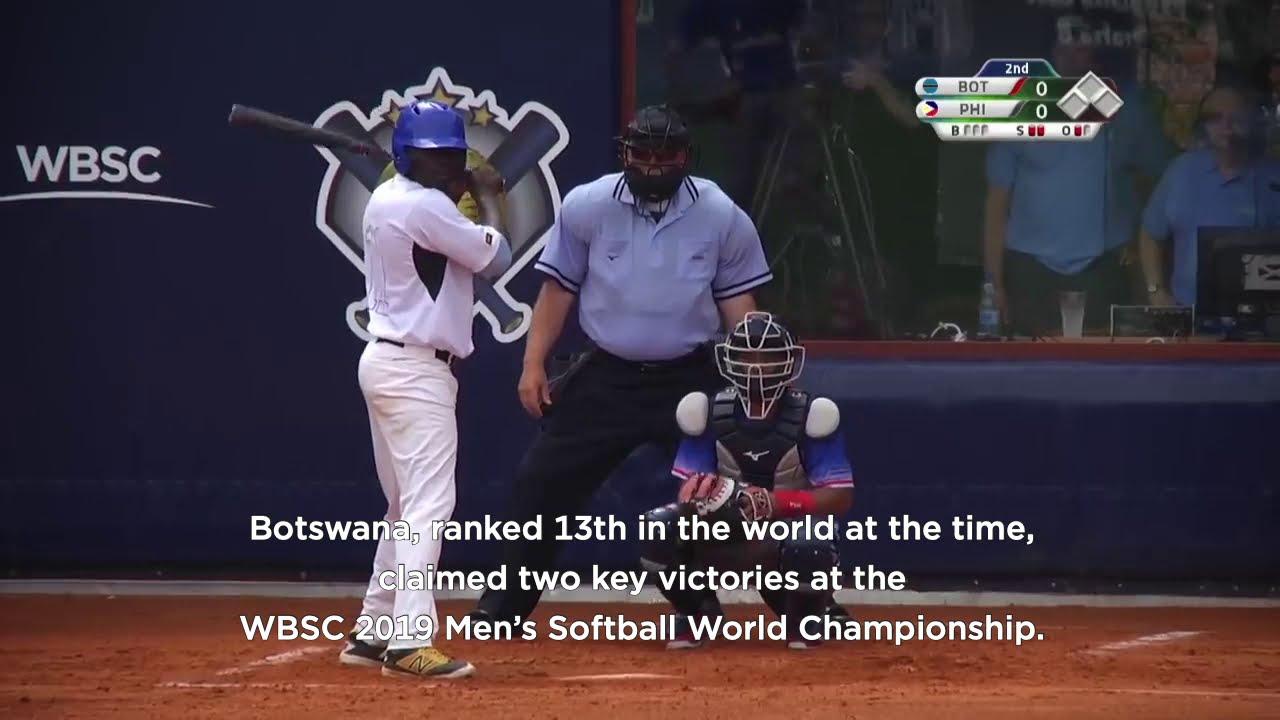 Botswana in the WBSC Men's Softball World Championship 2019