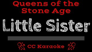 Queens of the Stone Age Little Sister CC Karaoke Instrumental