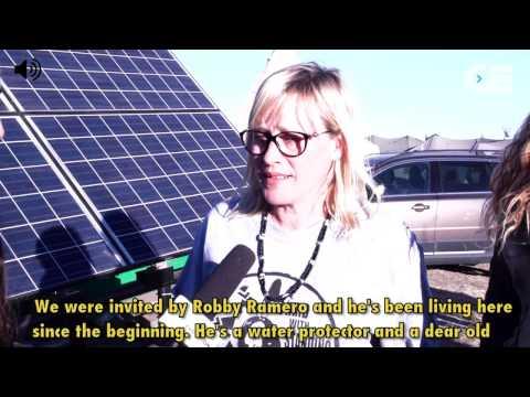 Standing Rock- Patricia Arquette & Compost Toilets