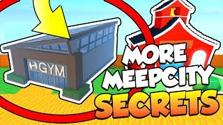 (NEW) *SECRET* Areas and Places In Roblox MEEP CITY [EPIC]