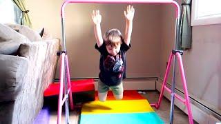 Twins New Gymnastics Trick...The Dropper