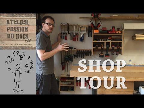 Visite de l'atelier   Shop Tour